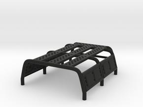 Bed Rack for SCX24 B-17 Betty in Black Natural Versatile Plastic