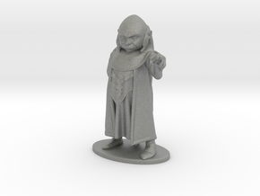Dungeon Master Miniature in Gray PA12: 1:36
