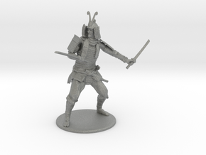 Samurai Miniature in Gray PA12: 1:48 - O