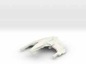 Shadow Class Refit D Destroyer in White Natural Versatile Plastic