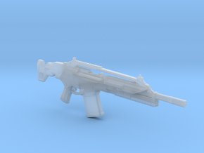 SCAR assault rifle 1:6 scale in Smooth Fine Detail Plastic