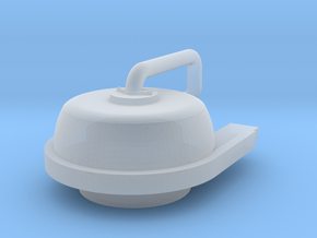 HO Air-tank end piece in Smooth Fine Detail Plastic