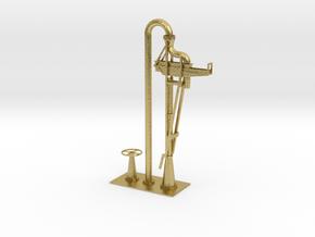 Wasserkran Bayerisch H0 und 0 in Natural Brass: 1:87 - HO