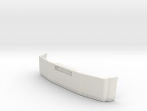 T800 style Aero Bumper in White Natural Versatile Plastic