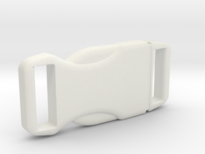 Jedi Belt Buckle in White Natural Versatile Plastic