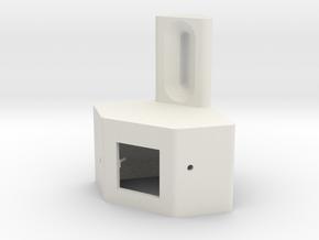 Occupancy Sensor Case in White Natural Versatile Plastic