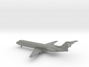Fokker 100 in Gray PA12: 1:400