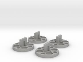 120 to 616 Film Spool Adapters, Set of 4 in Aluminum