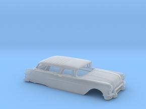 38mm 1957 Pontiac Safari Open Shell in Smooth Fine Detail Plastic