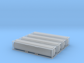 TankTainer 40foot - Zscale in Smooth Fine Detail Plastic