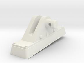 TorpedoTubeElcoSTBD16thFrontSupport in White Natural Versatile Plastic
