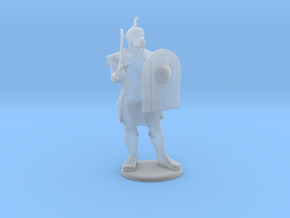 Orc with Scimitar Miniature in Smooth Fine Detail Plastic: 28mm