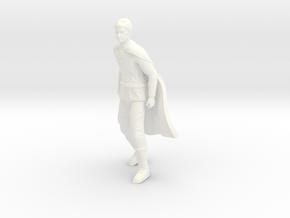 Battlestar Galactica - Adama in White Processed Versatile Plastic