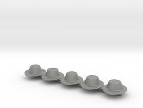 5 x Landsknecht Hat in Gray PA12