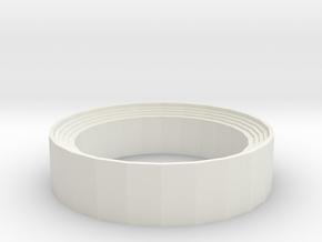 Rotary Clip SpeedLoader for Vigilante and 3576W in White Natural Versatile Plastic