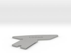"""100mm, 101mm, 4"""" Focus Cam for Linhof Technika III in Aluminum: Small"""
