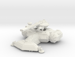 MG144-Aotrs 17 Hammer of Hatred Super Heavy Tank in White Natural Versatile Plastic