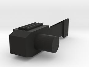 Gizmo Blaster in Black Natural Versatile Plastic