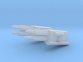 Laser in Smooth Fine Detail Plastic