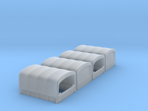 SPARE PART - G506 4x4 canvas part Only - (1:87 HO) in Smooth Fine Detail Plastic