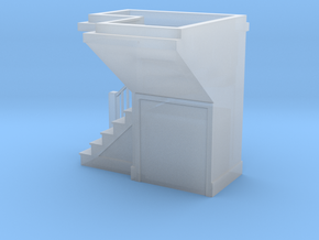 1:48 scale staircase 3 in Smooth Fine Detail Plastic