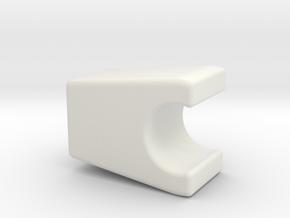 Verbinder Klein in White Natural Versatile Plastic
