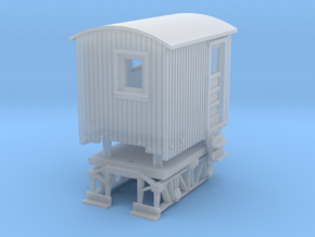 Nn3 Logging Caboose in Smooth Fine Detail Plastic