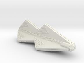 3125 Scale Tholian Heavy War Cruiser (CWH) SRZ in White Natural Versatile Plastic