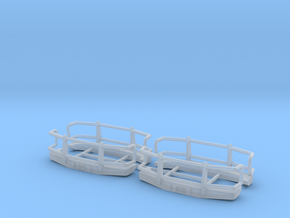 Greenlight OBS Wrap Around Bumper in Smooth Fine Detail Plastic