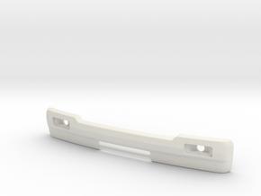 RCN292 Bumper For WPL D12 Suzuki in White Natural Versatile Plastic