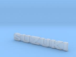 RCN295 Emblem For WPL D12 Suzuki in Smooth Fine Detail Plastic