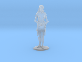 Elven Magic-User Miniature in Smooth Fine Detail Plastic: 1:60.96