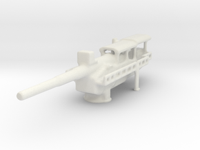 German 30 sud wall artillery  1/160 in White Natural Versatile Plastic