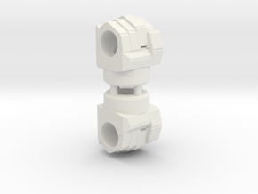 weaponizer fist LxR in White Natural Versatile Plastic