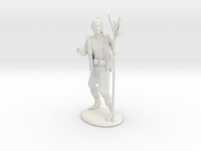 Kender Miniature in White Natural Versatile Plastic: 28mm