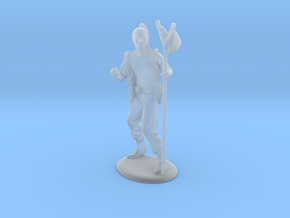 Kender Miniature in Smooth Fine Detail Plastic: 1:60.96