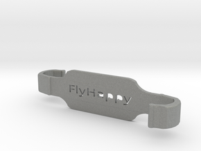 Fly Happy SL - DJI Contoller Large Tablet Holder in Gray PA12