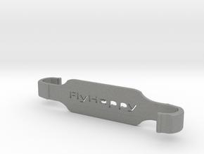 #FlyHappy SXL -Dji Controller XL Tablet Holder in Gray PA12