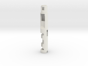 Atom Sabers Master KM Verso Chassis in White Natural Versatile Plastic