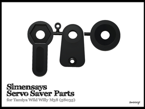 Simensays Wild Willy Servo Saver Assembly in White Natural Versatile Plastic