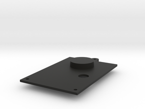 Revi 3c bottom plate in Black Natural Versatile Plastic