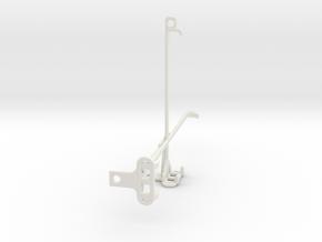 Amazon Fire HD 8 Plus (2020) tripod mount in White Natural Versatile Plastic