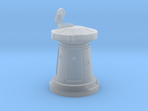 SNOW TURRET OPEN 1/72 in Smooth Fine Detail Plastic