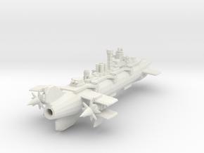 Neo Bolshevik 1919 Aerial battleship Alexander Nev in White Strong & Flexible