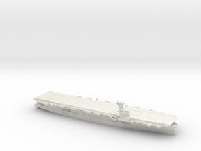 USN CVE73 Gambier Bay [1944] in White Natural Versatile Plastic: 1:1200