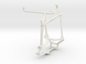 Controller mount for Steam & Xiaomi Poco F3 - Top in White Natural Versatile Plastic