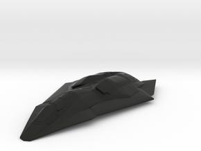 F/A-37 Talon - Wings Swept, Gear Up in Black Natural Versatile Plastic