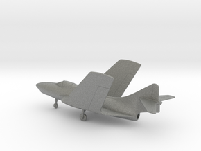 Grumman F-9J Cougar (folded wings) in Gray PA12: 1:160 - N