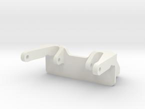 Proscale Servomount auf AR44 Achsen in White Natural Versatile Plastic