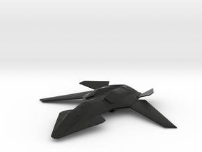F/A-37 Talon - Wings Spread, Gear Up in Black Natural Versatile Plastic
